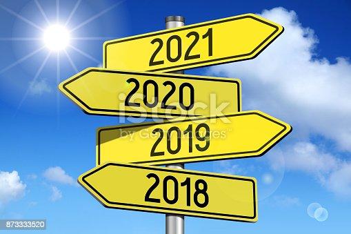 istock 2018/ 2019/ 2020/ 2021 - signpost/ roadsign 873333520