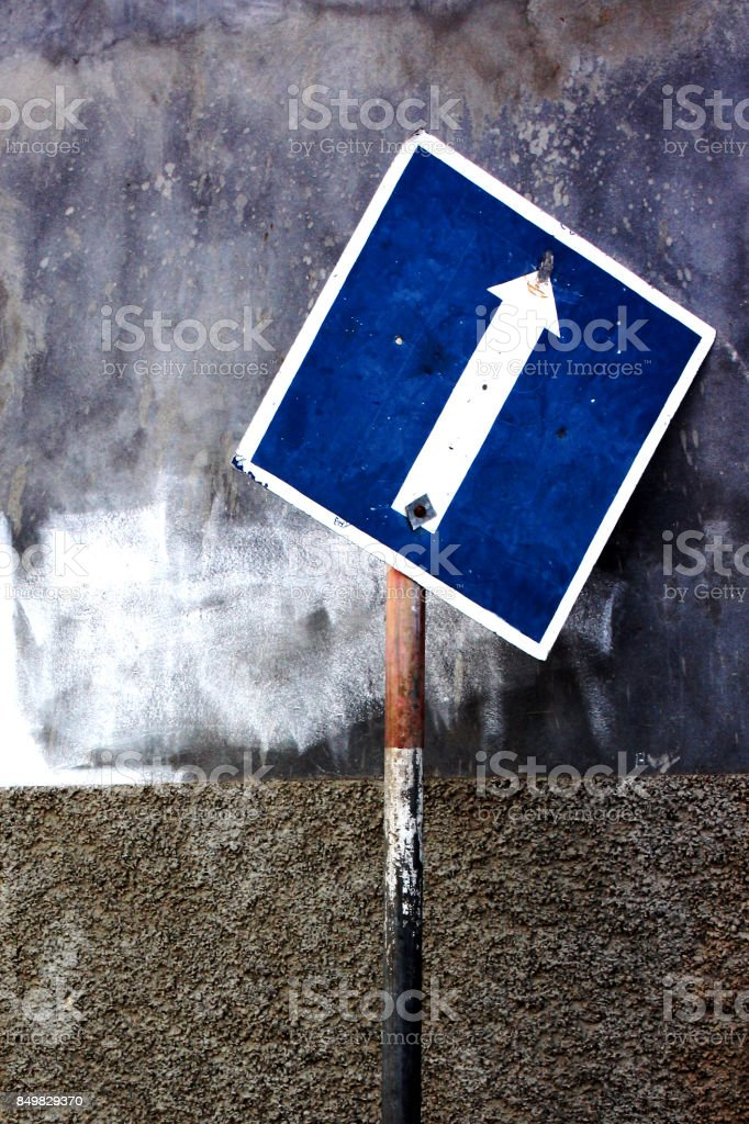 signposting stock photo