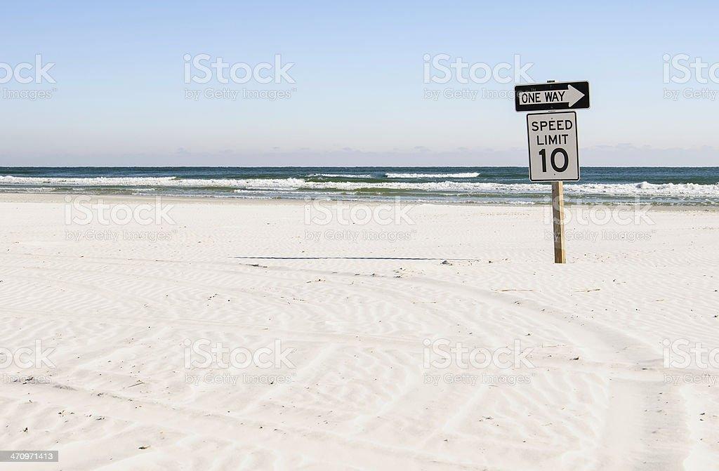 As placas para aqueles que dirija na praia - foto de acervo