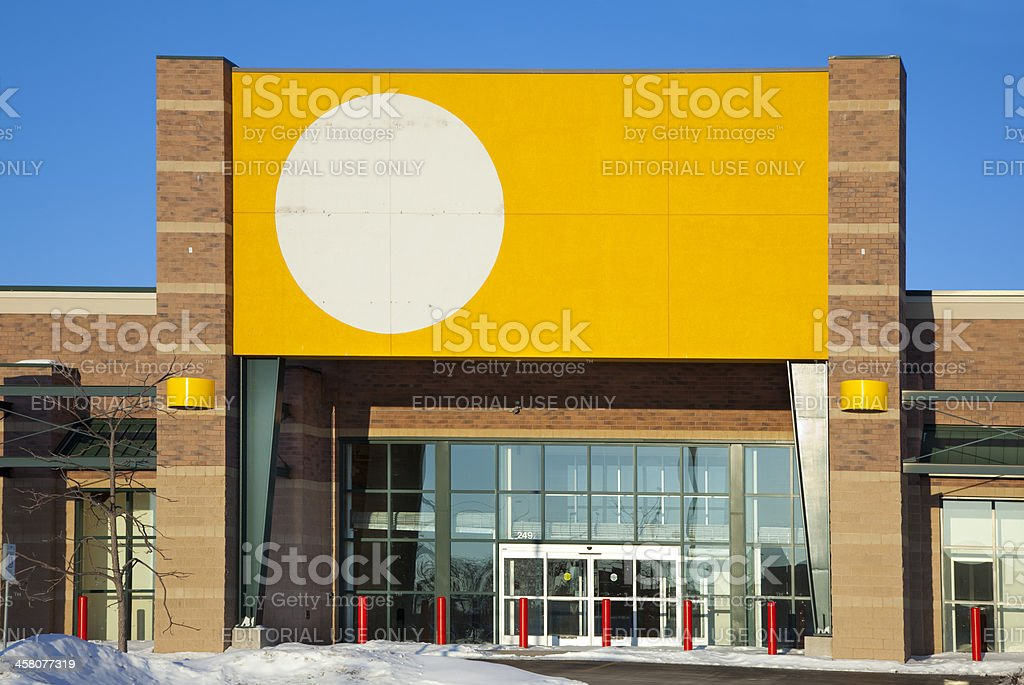 Signs Of Recession Abandoned Circuit City Store Facade Royalty Free Stock Photo