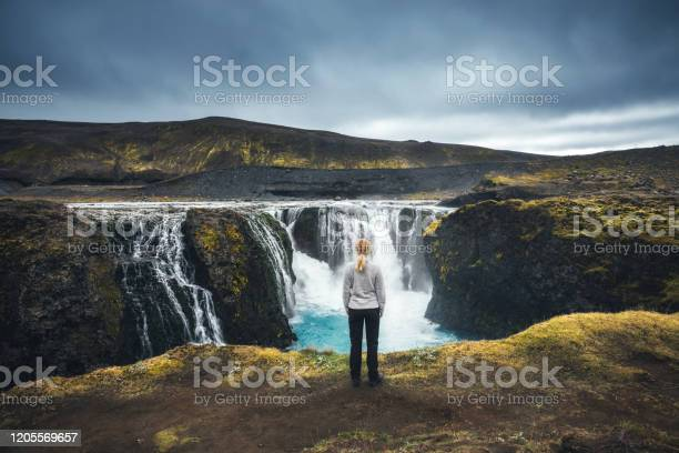 Sigoldufoss In Iceland Stock Photo - Download Image Now