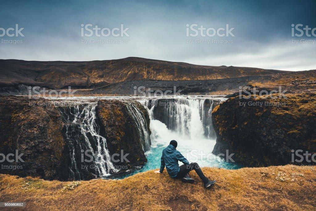 Sigoldufoss en Islande - Photo