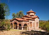 Sigri church on island Lesbos,Greece