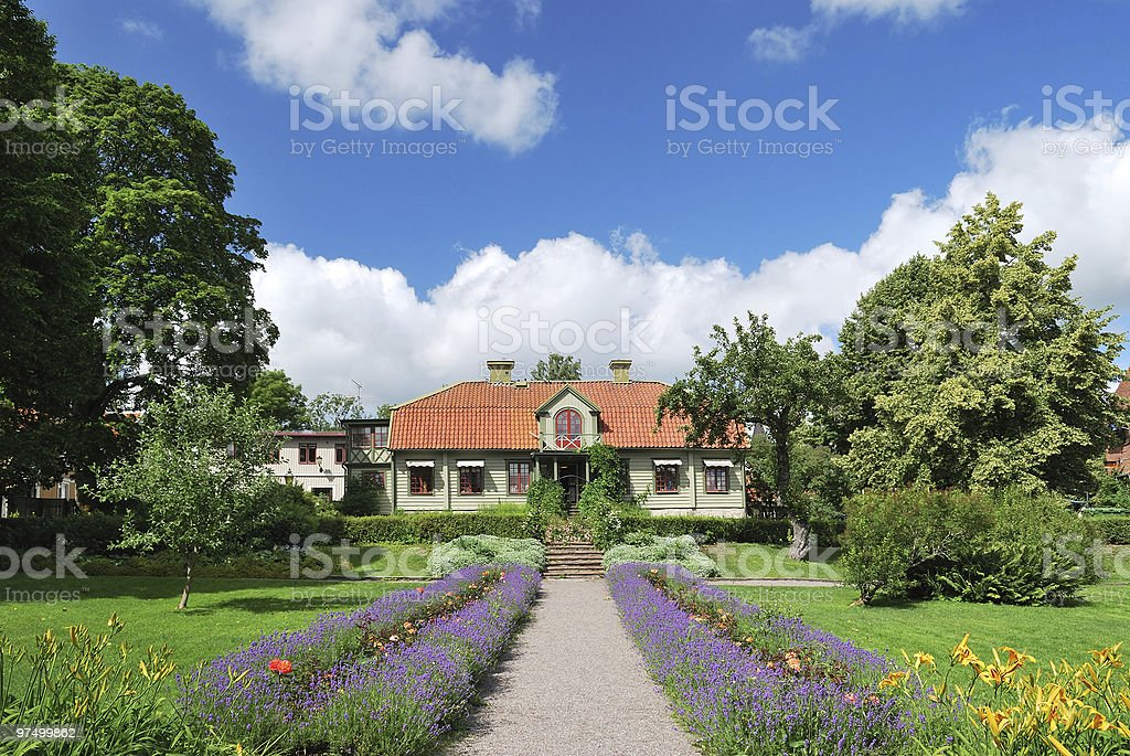 Sigtuna, Sweden royalty-free stock photo