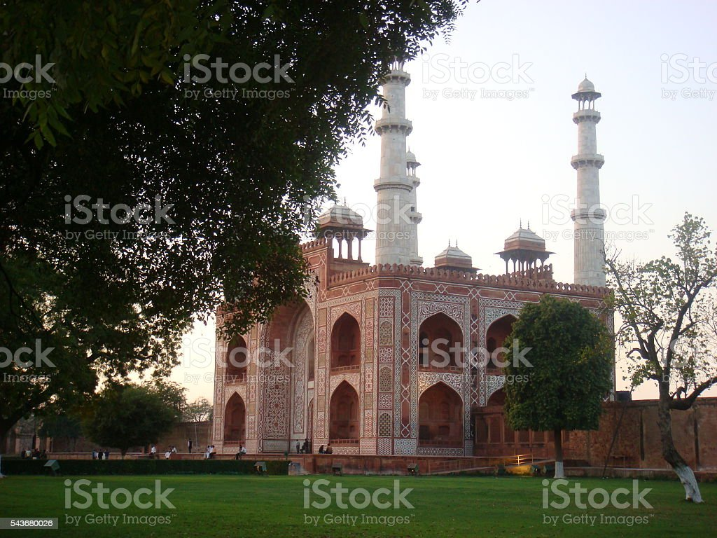 Sikandra Agra, Side View stock photo