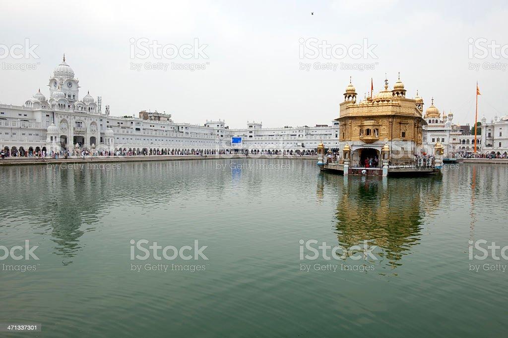 Sikh Golden Temple Amritsar Punjab India stock photo
