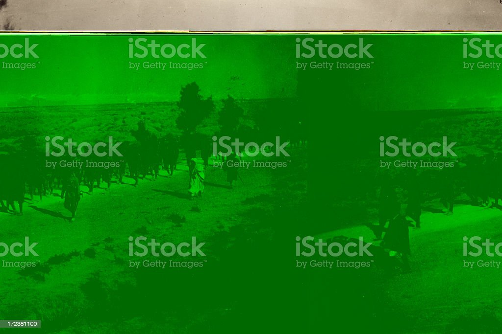Sikh troops royalty-free stock photo