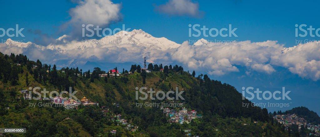 sikkim stock photo