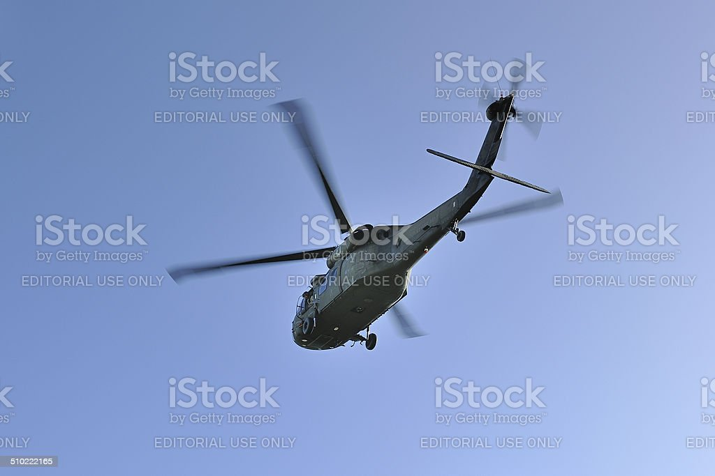 Sikorski VH-60N Whitehawk from the presidential security detail stock photo