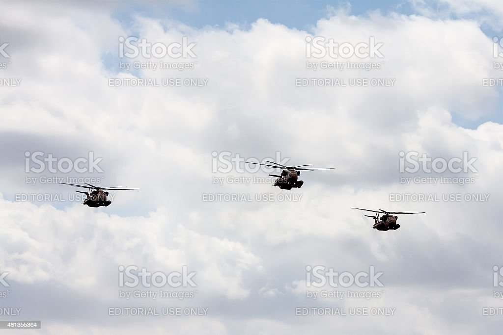 Sikorsky CH-53 stock photo