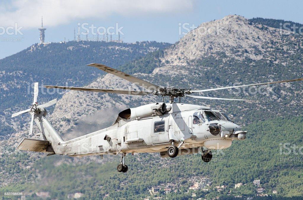 Sikorsky uh 60 navy stock photo