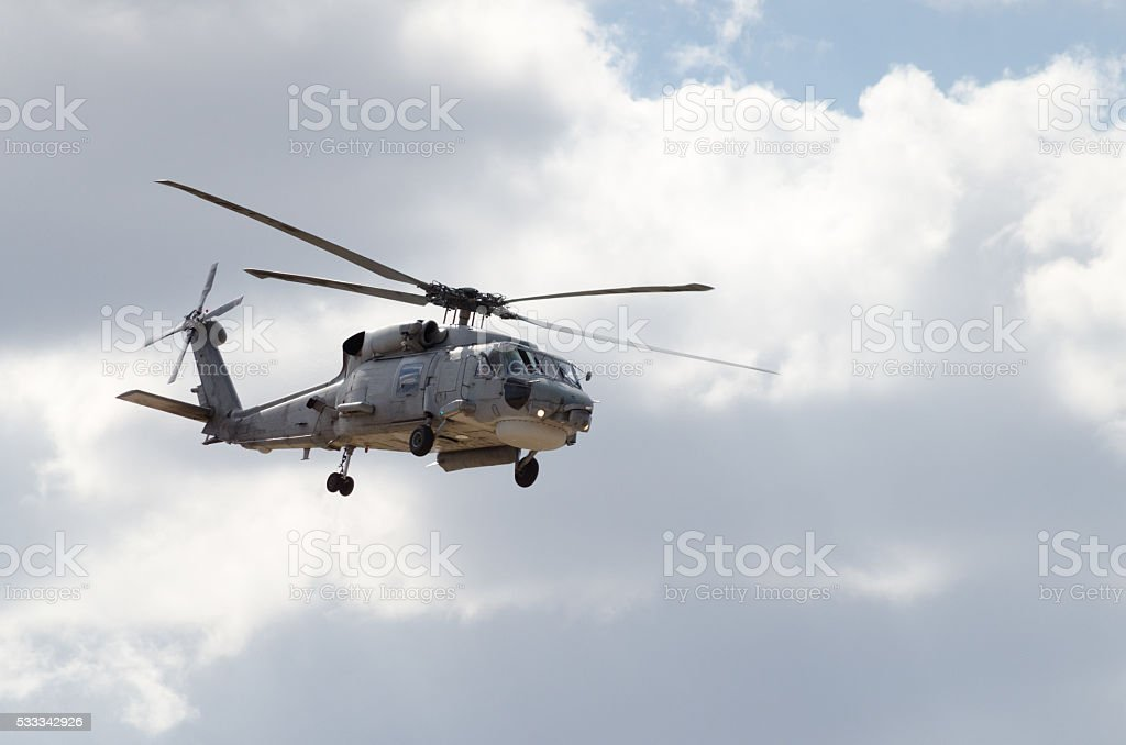 Sikorsky uh 60 navy stock photo