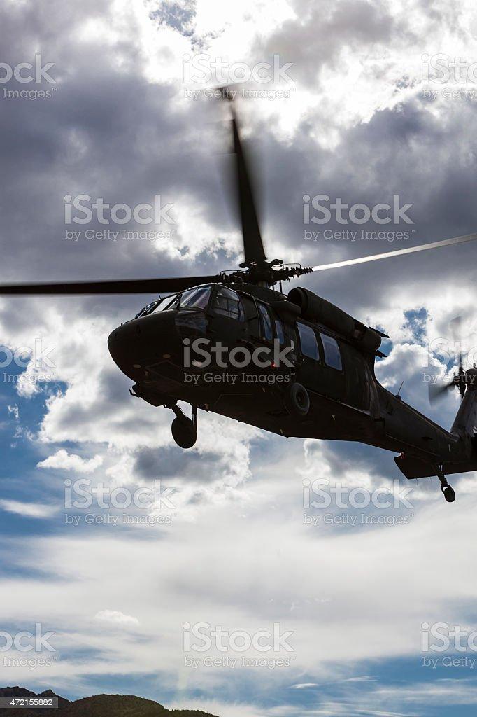 Sikorsky UH-60 Black Hawk stock photo