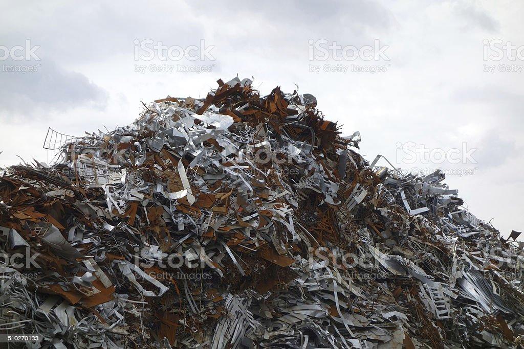 Silberglanz und Rost stock photo