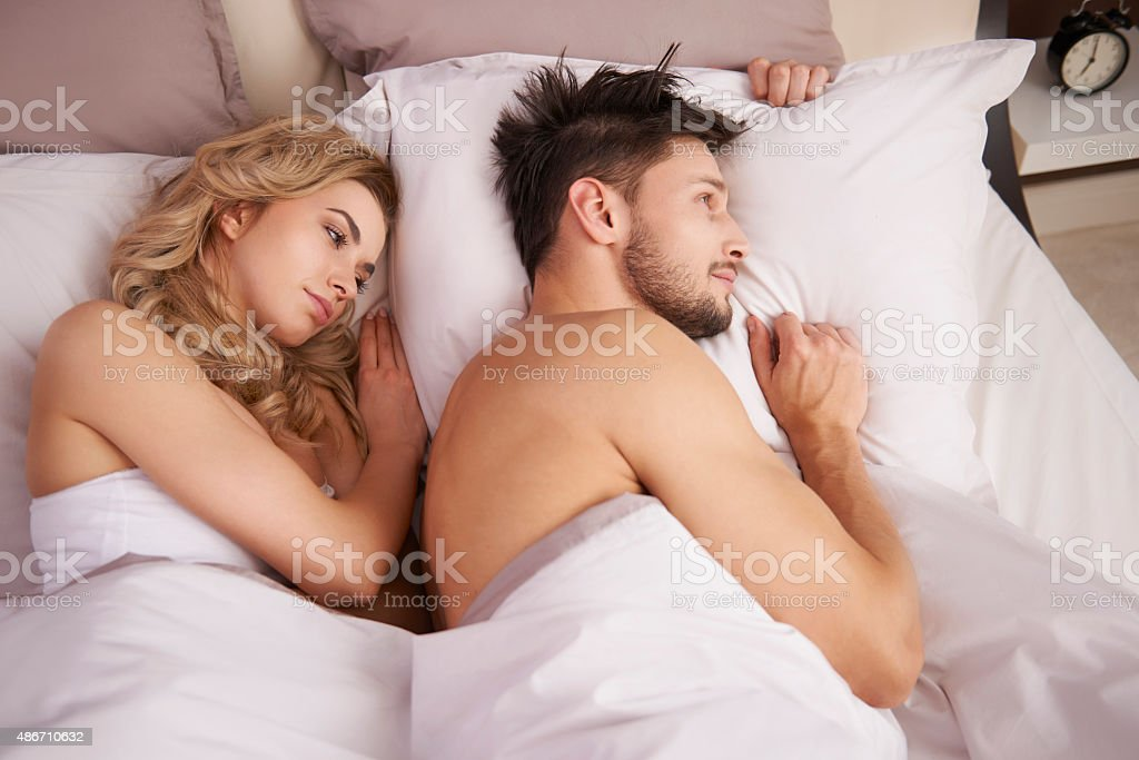 Silence between them is something very uncommon stock photo