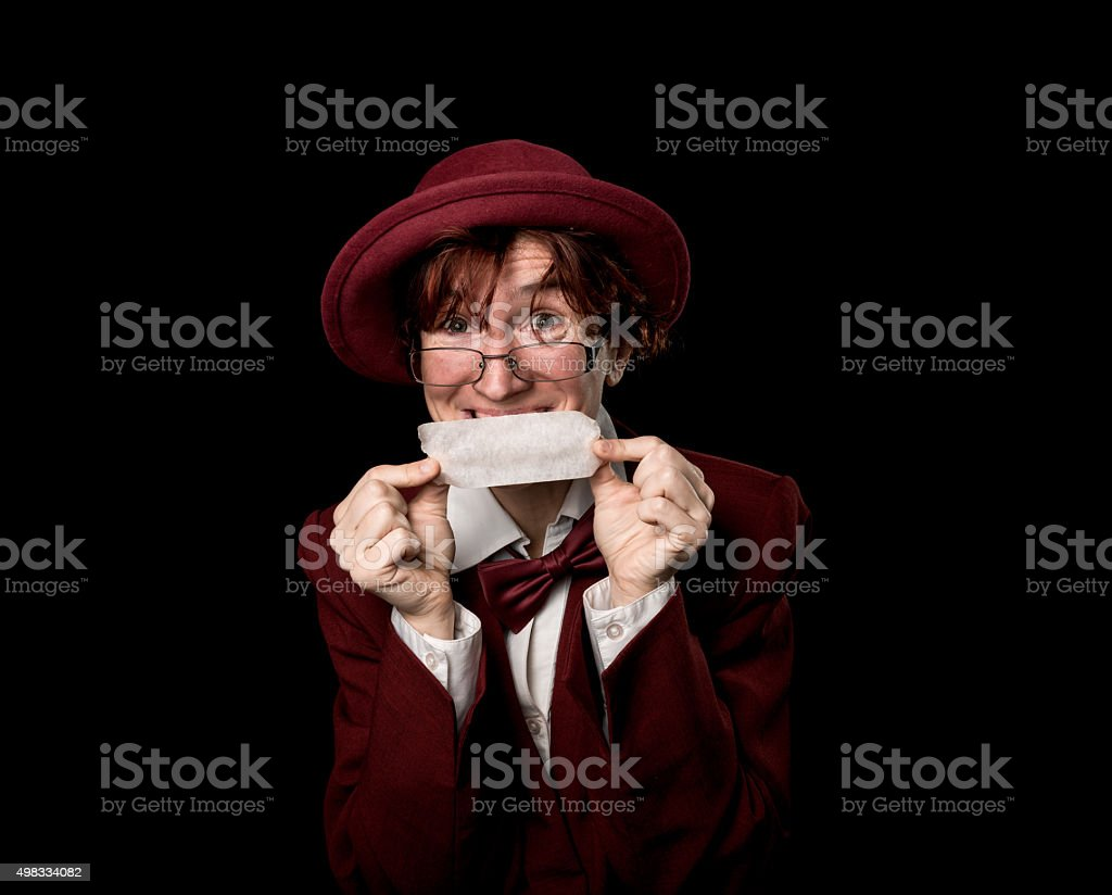 Silence is gold stock photo