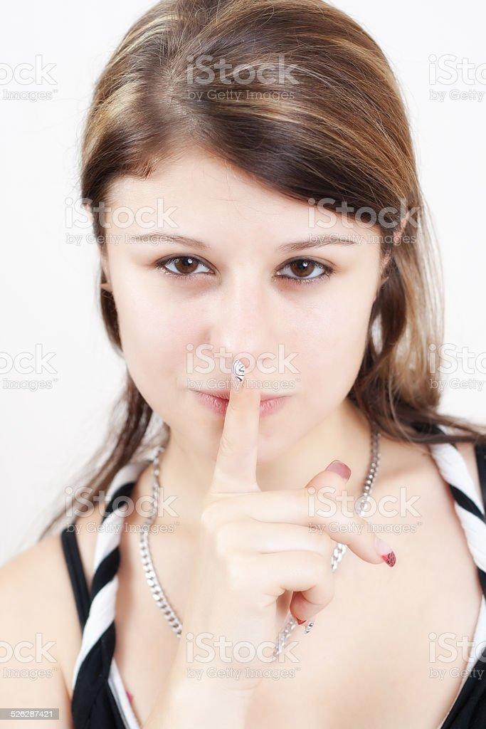 silence stock photo
