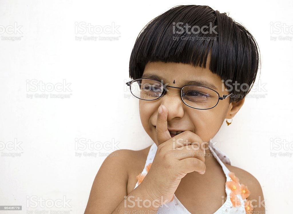 Silence Please! royalty-free stock photo