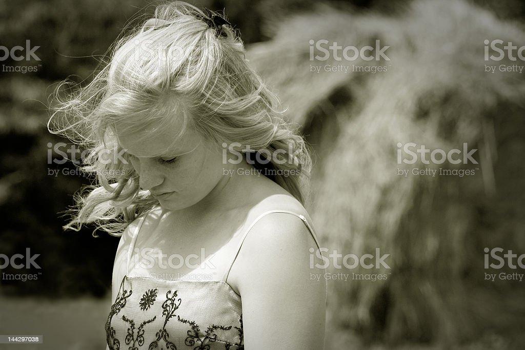 Silent beauty royalty-free stock photo