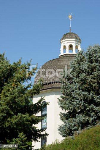Silent Notte Chapel Frankenmuth Michigan - Fotografie stock e altre immagini di A forma di stella