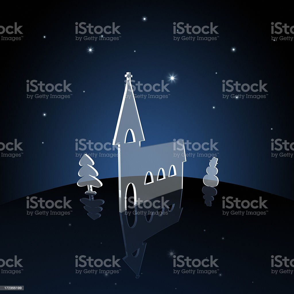 Silent Night XXL royalty-free stock photo