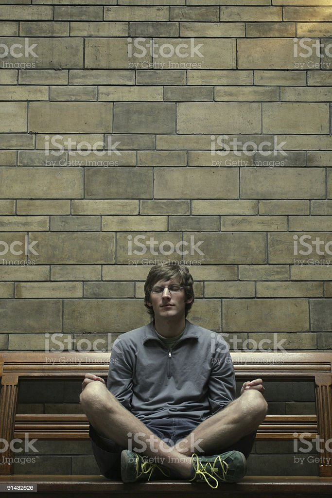 Silent Prayer royalty-free stock photo