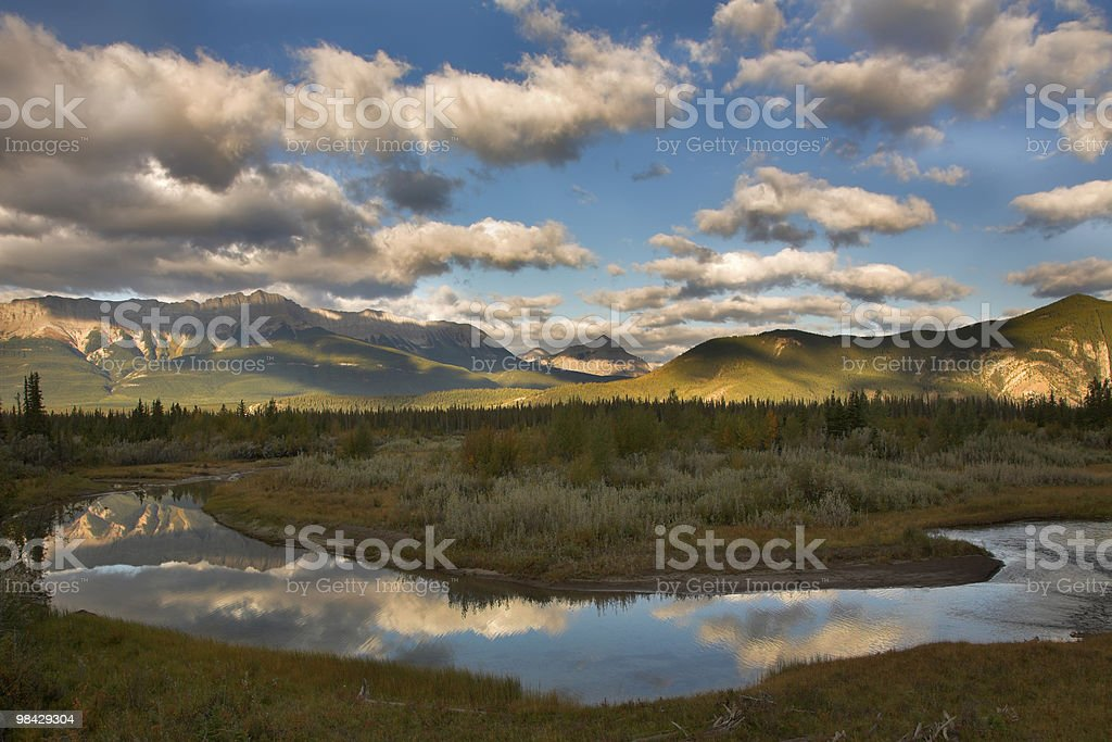Silent river royalty-free stock photo