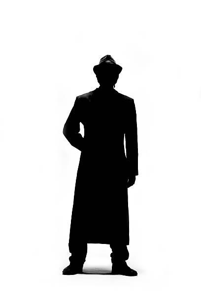 Silhouette Man stock photo