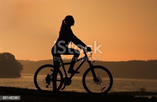 969439086istockphoto silhouette of a bike 531482361