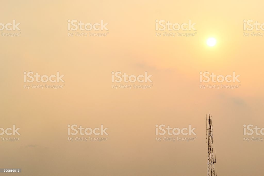 silhouette of antennasilhouette of antenna