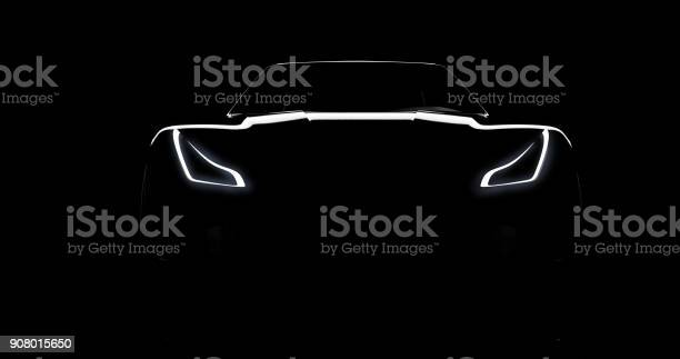 Silhouette of black sports car on black picture id908015650?b=1&k=6&m=908015650&s=612x612&h=j9iv57hld2peabdpmuwu iqif84jih2072ubj55in m=