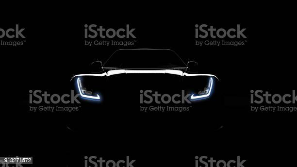 Silhouette of black sports car on black picture id913271572?b=1&k=6&m=913271572&s=612x612&h=4ivonjdui8de0ww1uibe2xoulggjuiqru vangojcnc=