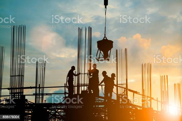 Silhouette of engineer and construction team working safely work load picture id838476004?b=1&k=6&m=838476004&s=612x612&h=mas761x2dpcw0bav13nfc1aprphyykgk8vmc2hpafvu=