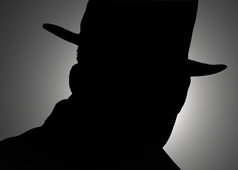 istock silhouette of the detectives 538099449