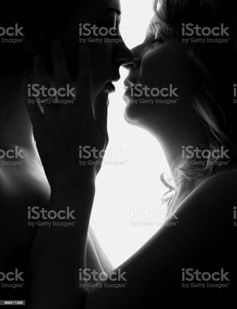 Zwarte vrouw heeft seks