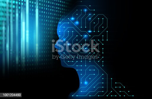 istock silhouette of virtual human on circuit pattern technology 3d illustration 1001204450