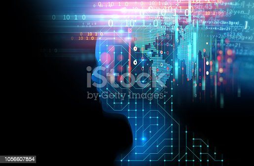 istock silhouette of virtual human on circuit pattern technology 3d illustration 1056607854