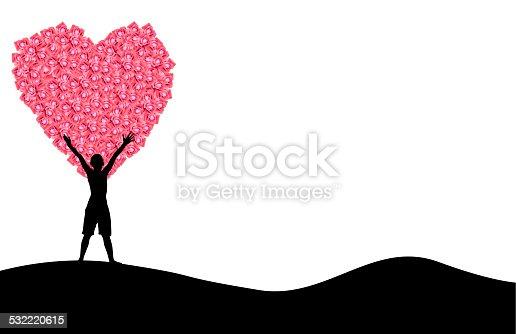 istock silhouette valentine Love Builders 532220615