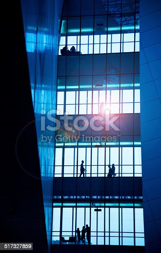 905689676 istock photo silhouettes of business people 517327859