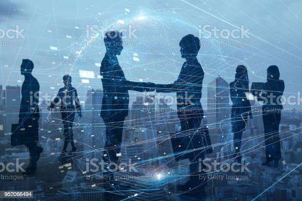 Silhouettes of group of businessperson global business network picture id952066494?b=1&k=6&m=952066494&s=612x612&h=so4r52oy2xj1fzr m7yy5ah h5q9m24unhsg2z8xbjg=