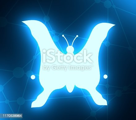 istock Silhouettes of two head. 1170538964