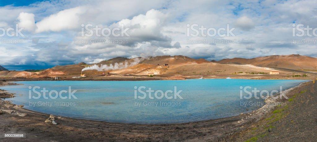 Silica Lake stock photo