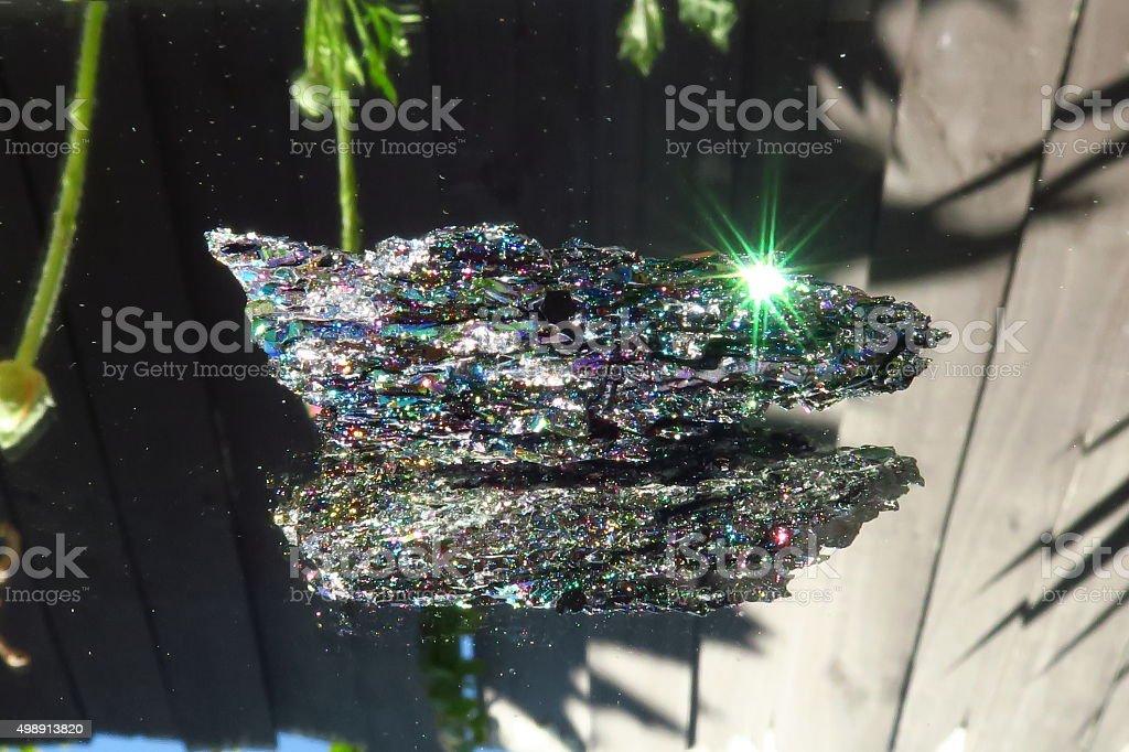 Silicon Carbide Crystal Master Healer stock photo