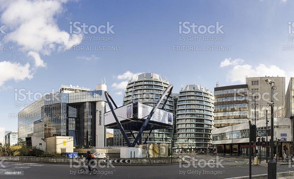 Silicon Roundabout, London Tech city stock photo