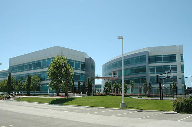 Silicon Valley HQ stock photo