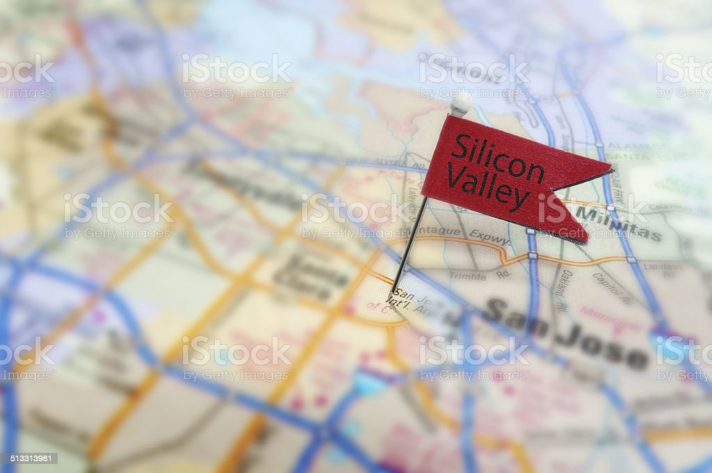 Silicon Valley stock photo