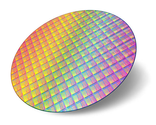 Silicon wafer with processor cores See also: silicon stock pictures, royalty-free photos & images