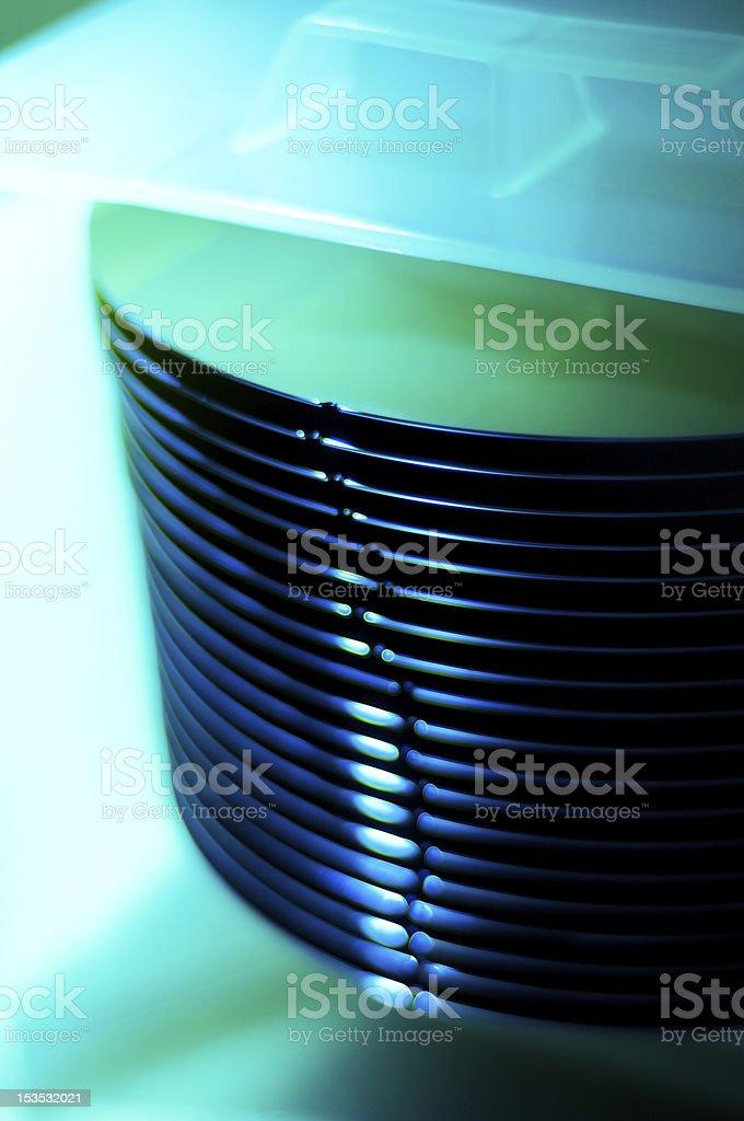 Silicon Waffel in einer Kassette – Foto