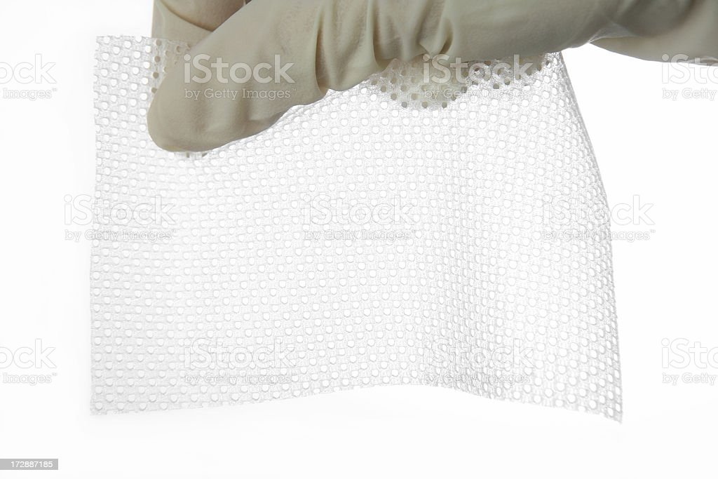 silicon wound dressing royalty-free stock photo