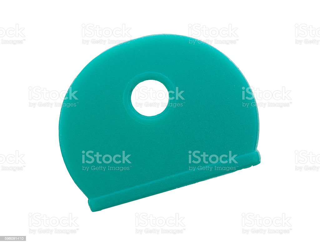 Silicone key cover isolated royalty-free stock photo
